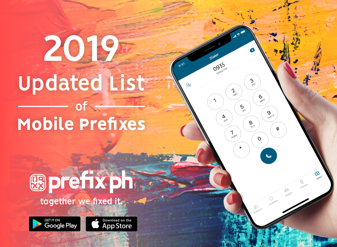 2019 Complete List of Philippine Mobile Number Prefixes